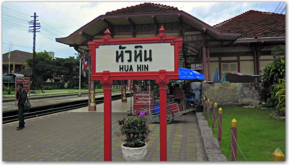 train hua hin thailand