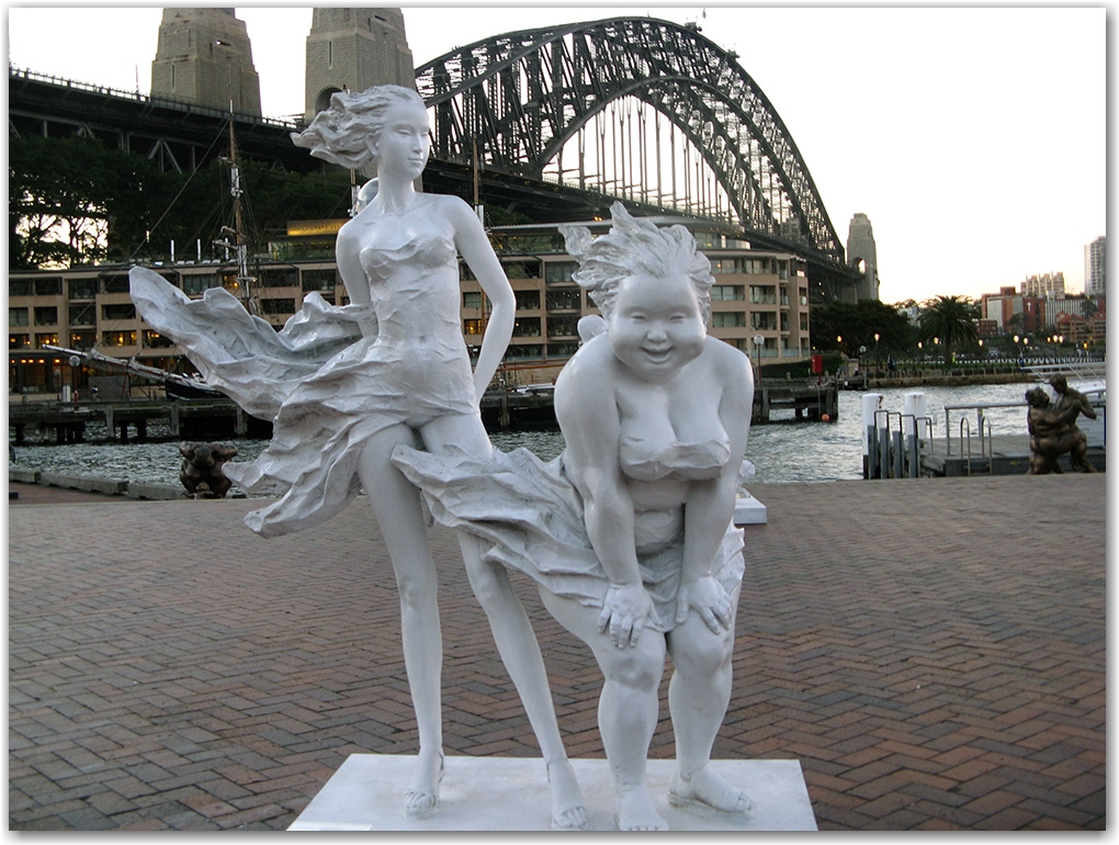 Xu Hongfei sculpture Sydney Harbour