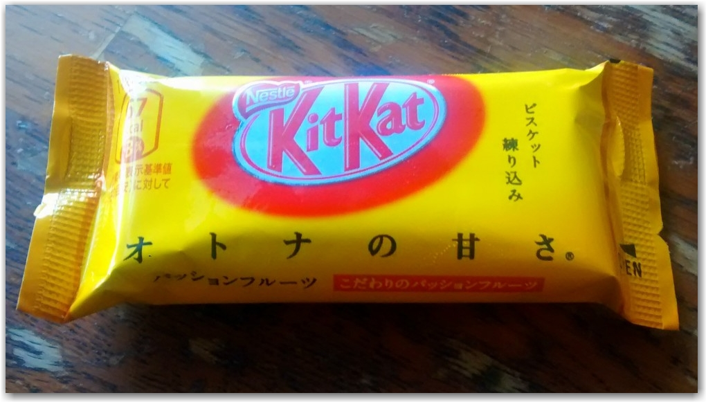 passion fruit kit kat