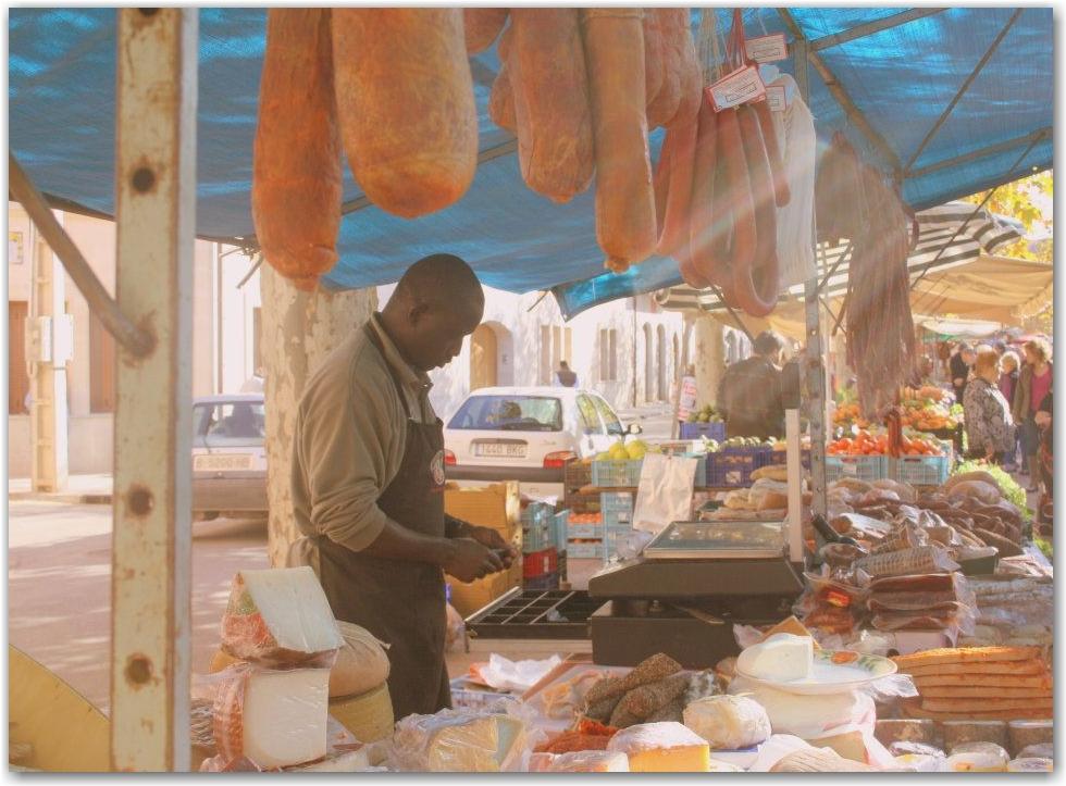 Santa Maria market, Mallorca