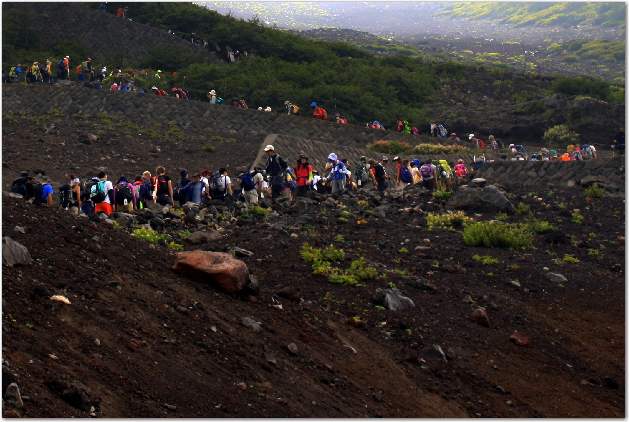 Yoshida Trail Mount Fuji
