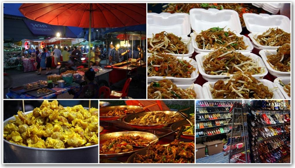 ban pong thailand night market