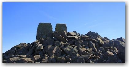 climbing Mount Tryfan: Adam and Eve, Mount Tryfan