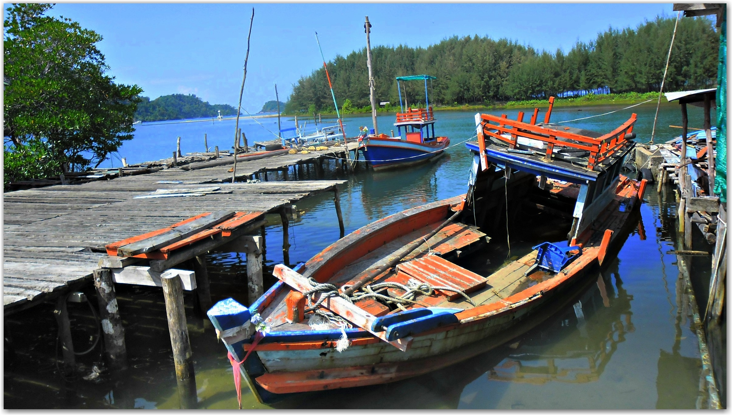 traditional fishing village, Koh Chang