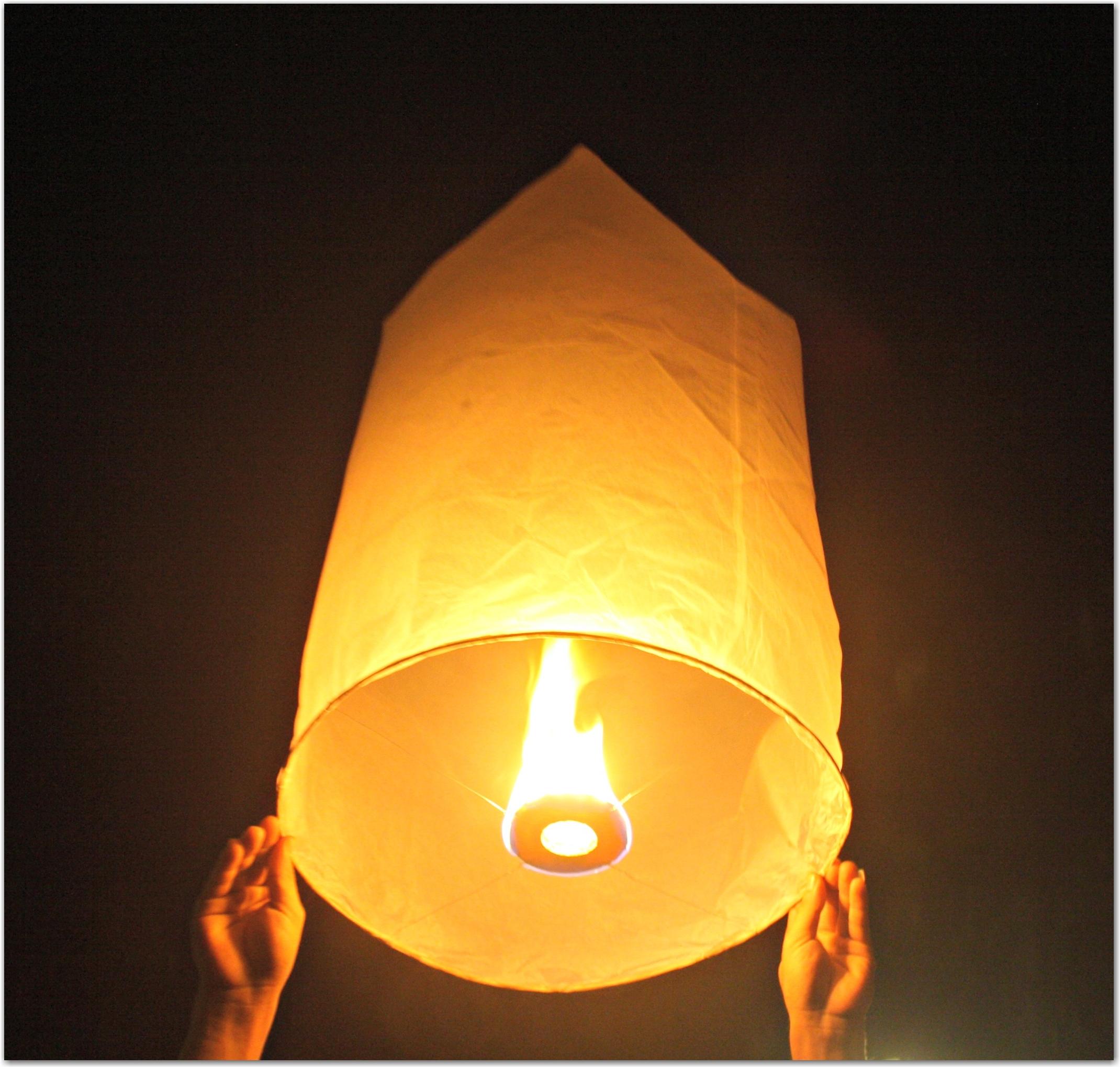 Китайские летающие фонарики своими руками