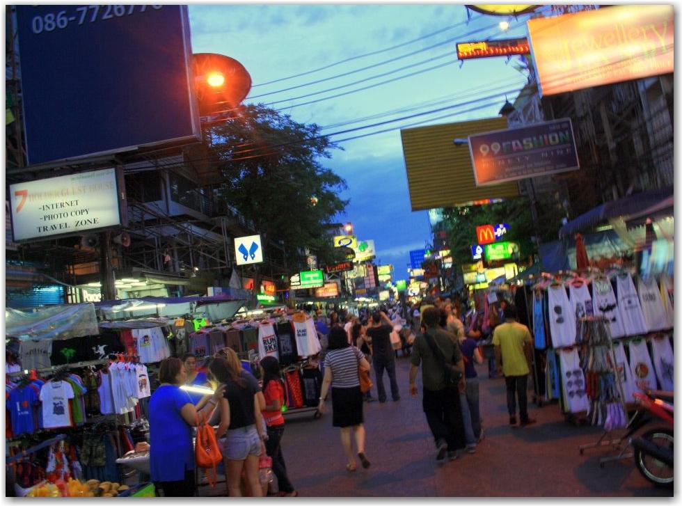 Alone on Khao San Road