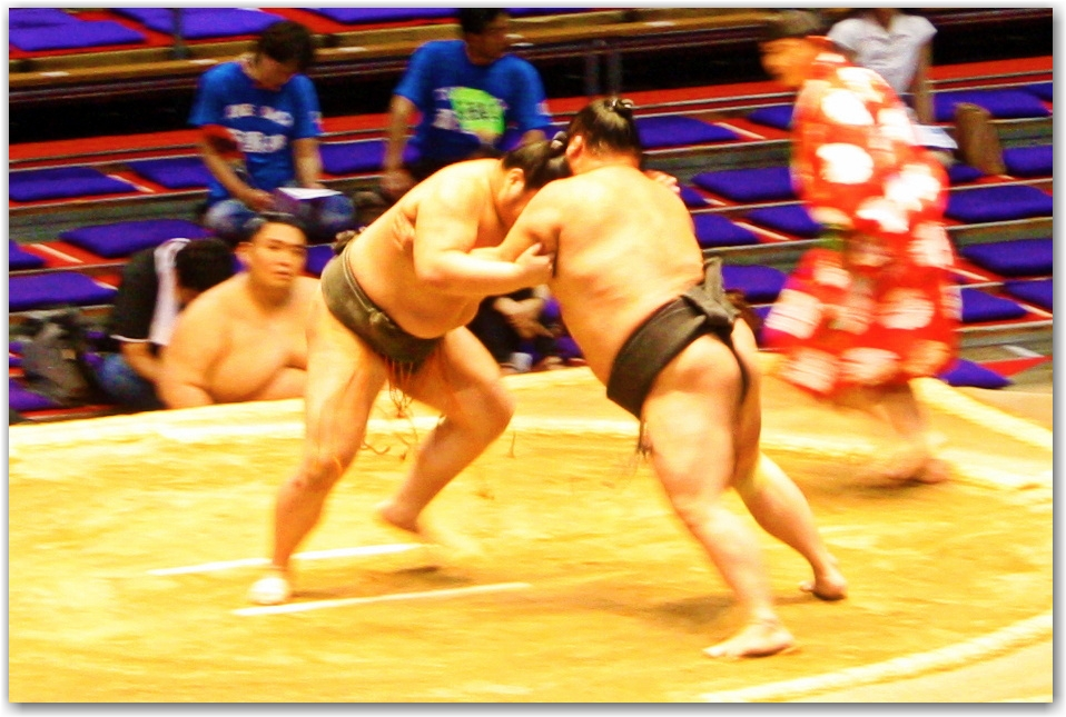 Grand Sumo Tournament Nagoya Japan