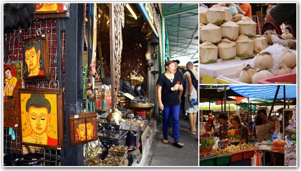 jj weekend market bangkok thailand