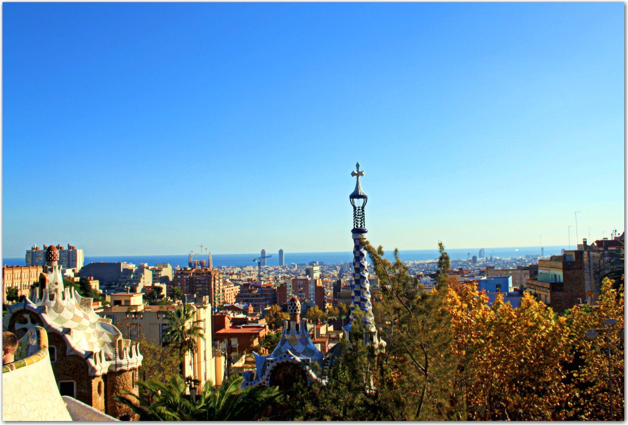Park Güell Barcelona Spain