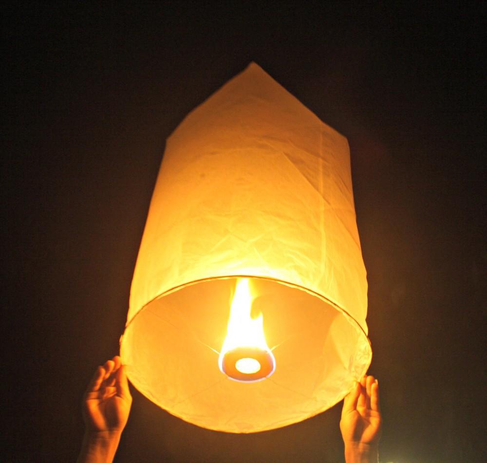 Небесные фонарики своими рукам