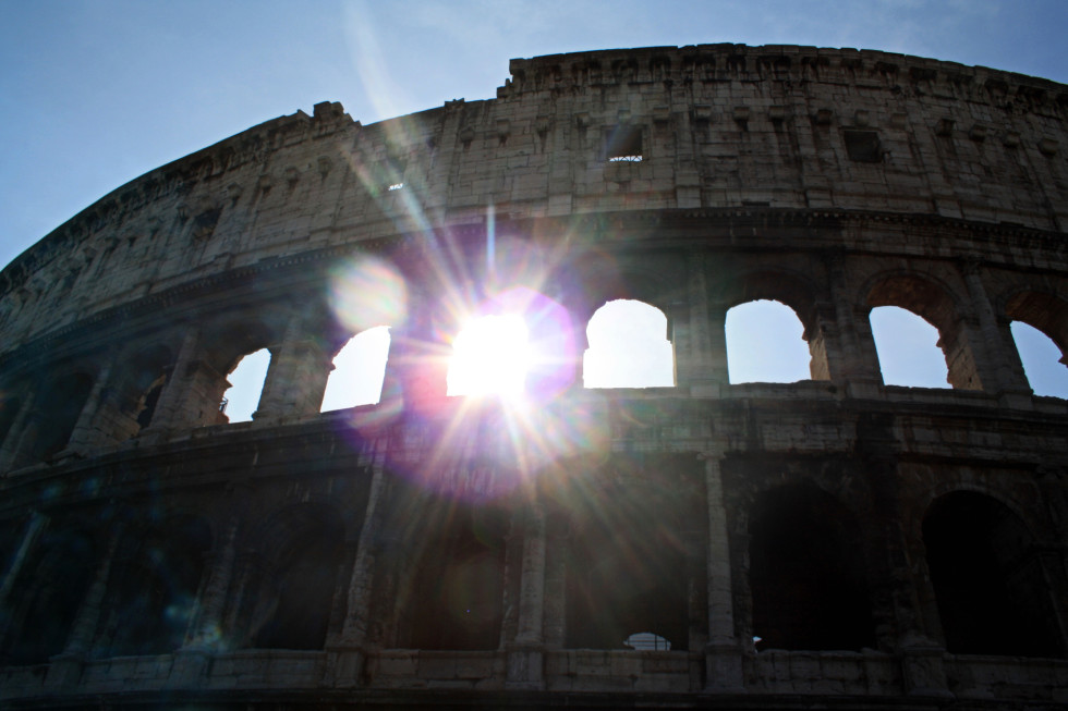 Sunday Snapshot: Early Morning at the Colosseum