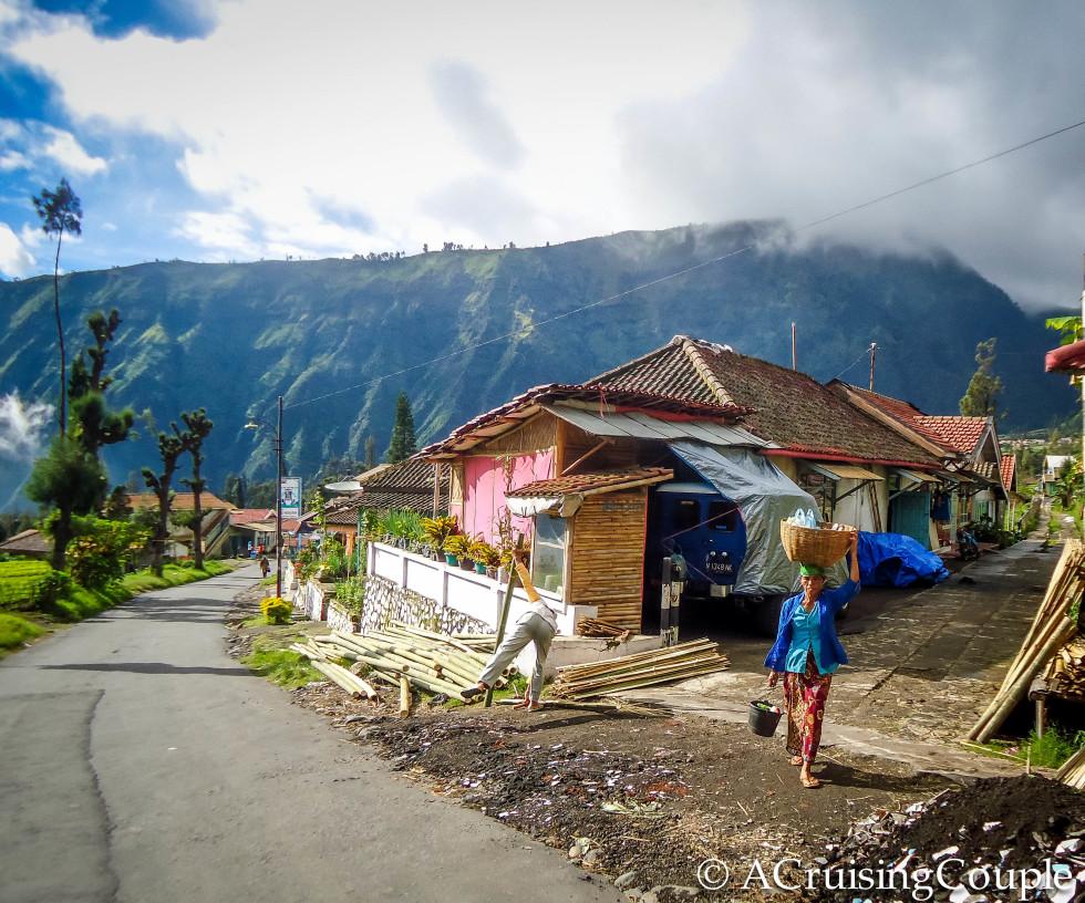 Sunday Snapshot: Cemoro Lawang, Indonesia