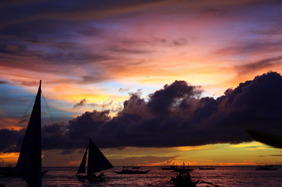 Sunday Snapshot: Sunsets on Boracay