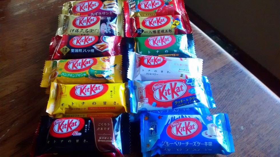 A Year in Kit Kats